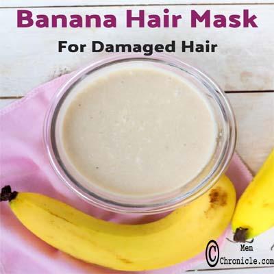Banana Hair Mask Natural Conditioner For Dry Hair