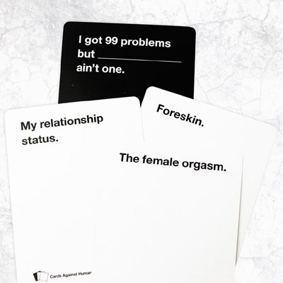 Cards Against Humanity Team Drinking Party Game
