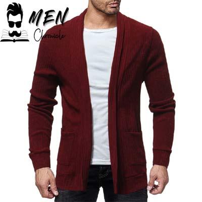 Casual Cardigan Look Dress Code For Men