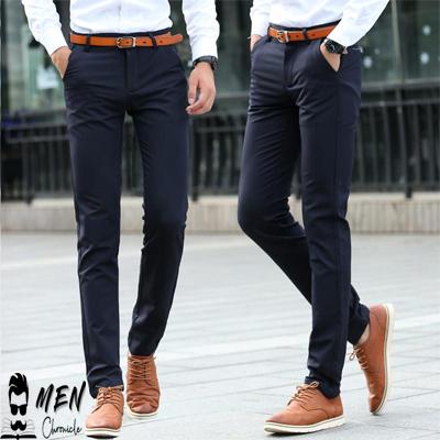 Dress Pants Men Wardrobe Essentials
