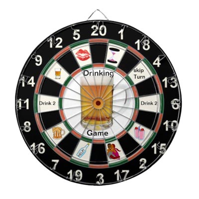 Drinking Dart Activity For Small Groups
