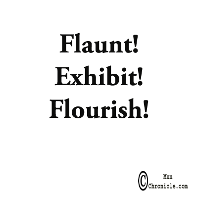 Flaunt Exhibit Flourish