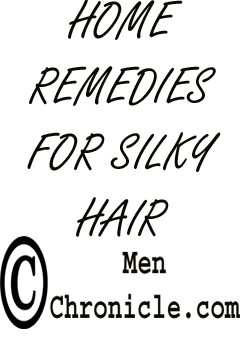 Home Remedies For Silky Hair in Men