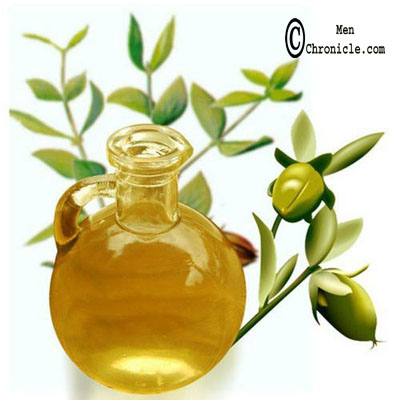 Jojoba Oil To Make Hair Silky For Men's