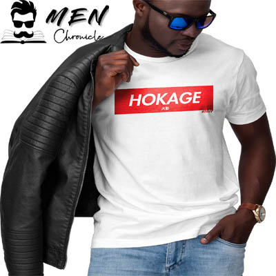 Leather Jacket With Tee For Male