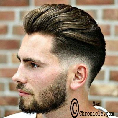 Low Fade On Sides Natural Texture Hairstyle