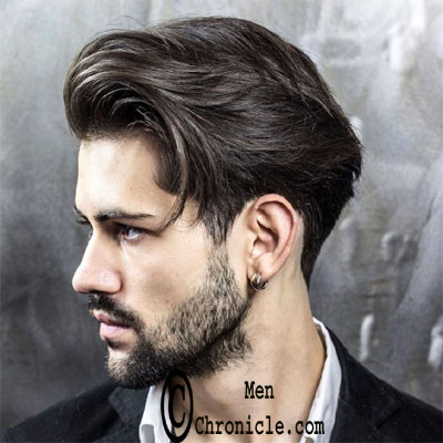 Medium Length Classic Scissor Cut New Men's Hairstyle Trending
