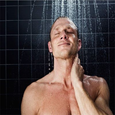 No Hot Showers Heat Dries Up Your Hair Extensively