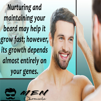 Nurture For Happy Beard