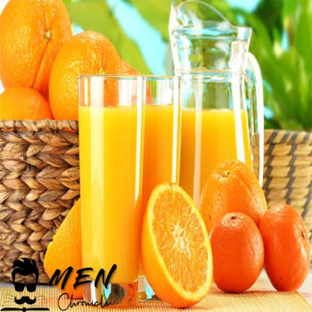 Orange Juice For Fast Beard Growth