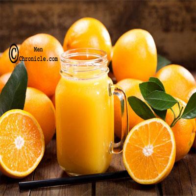 Orange Juice To Set Silky Hair For Guys