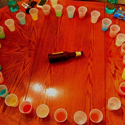 Shot Roulette Drinking Game For 2 Or More