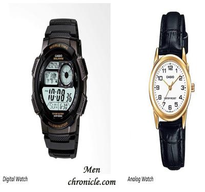 Analog Or Digital Wristwatch