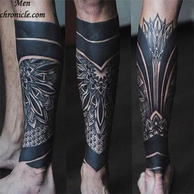 Blackwork Tribal Tattoo