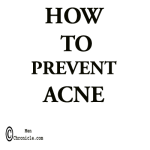 How To Prevent Acne In Acne Prone Skin