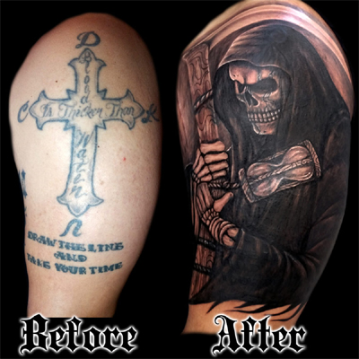 Tattoo Cover Up Ideas For Men