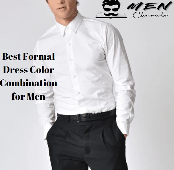 dress color combination for men