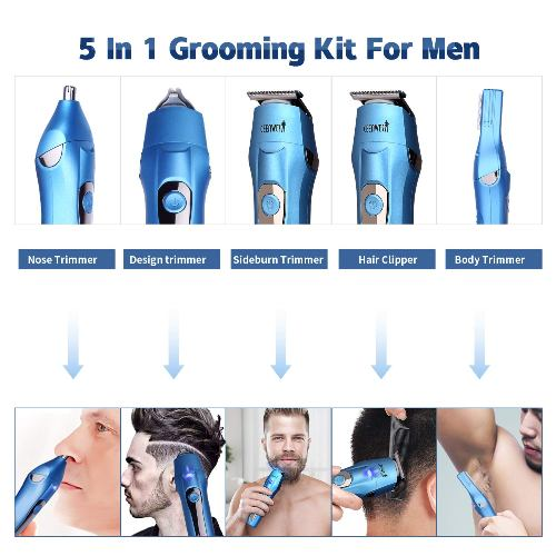 5 in 1 Grooming Kit by Ceenwes Highest Versatility Hair Clipper