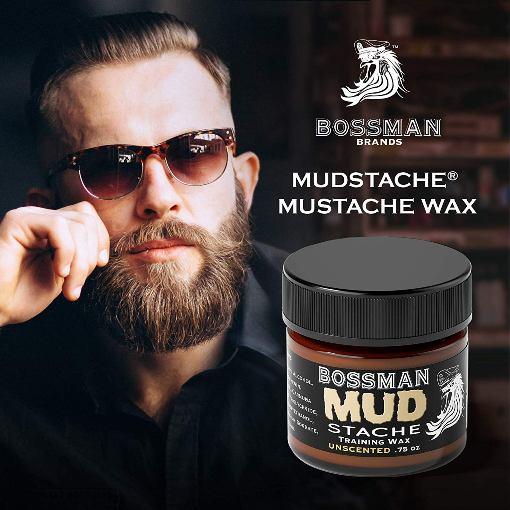 BossmanMUDstache- Mustache Training Wax
