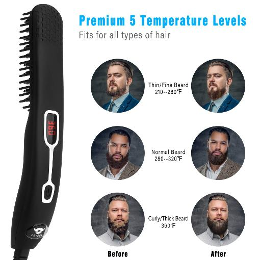 Cayzor Beard Straightener Comb
