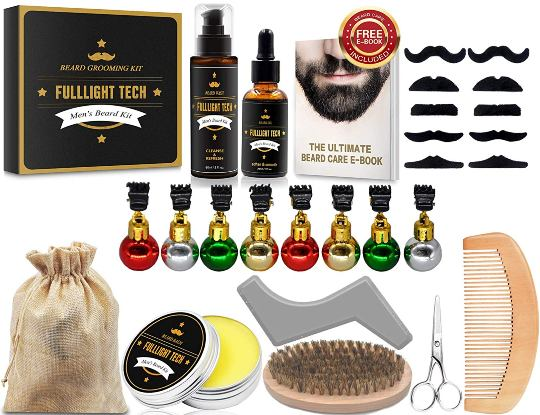 Cheapest Amongst All - Full Light Tech Beard Oil With Grooming Kit