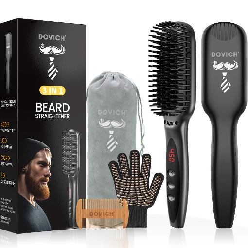 Dovich Ceramic Beard Straightener