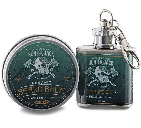Best Gift Pack - Hunter Jack Beard Oil And Balm Combo