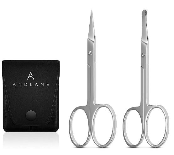 K Beauty Eyebrow Facial Hair Scissors Kit