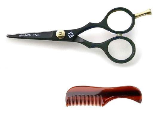 Professional Moustache Scissors by Sanguine