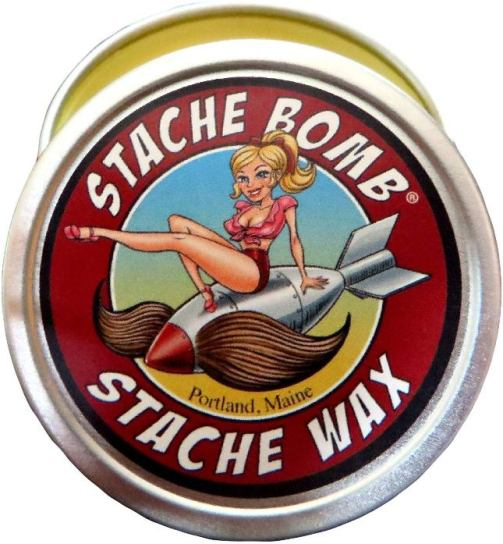 Stache Bomb Mustache Wax